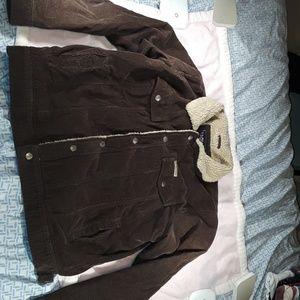 US Polo Assn  Brown Corduroy Jacket